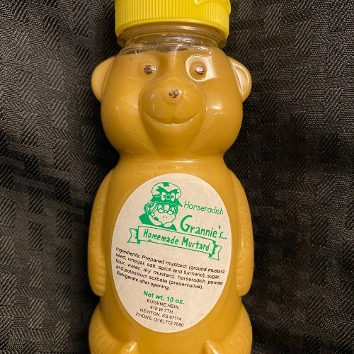 Grannie's Horseradish Mustard